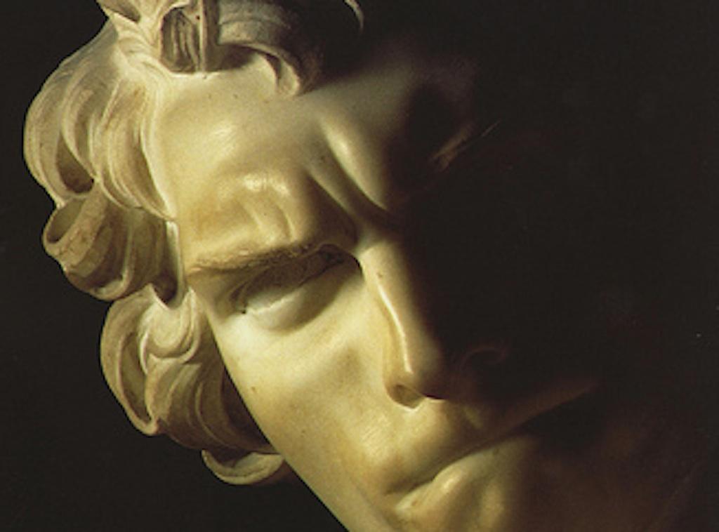 Давид Бернини автопортрет