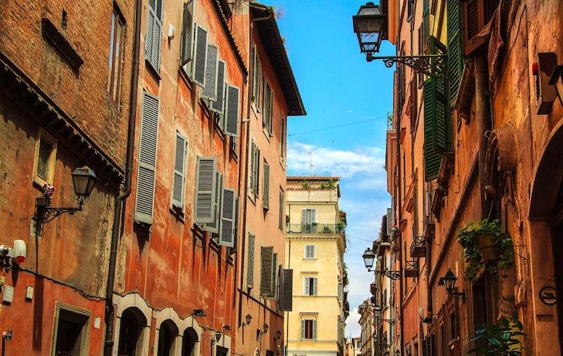 Улочка Рима