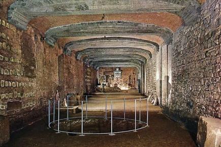 Подземелья Базилики Святого Клемента