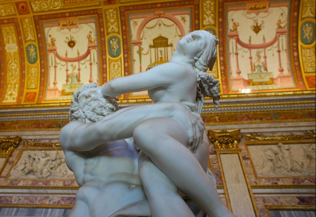 Похищение Прозерпины Бернини
