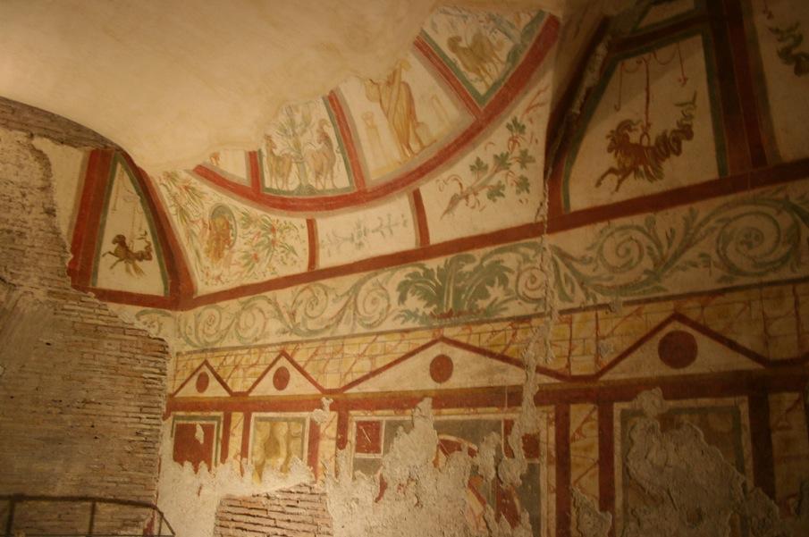 Фрески 3 века в инсуле