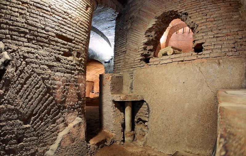 Подземелья Церкви Иоанна и Павла