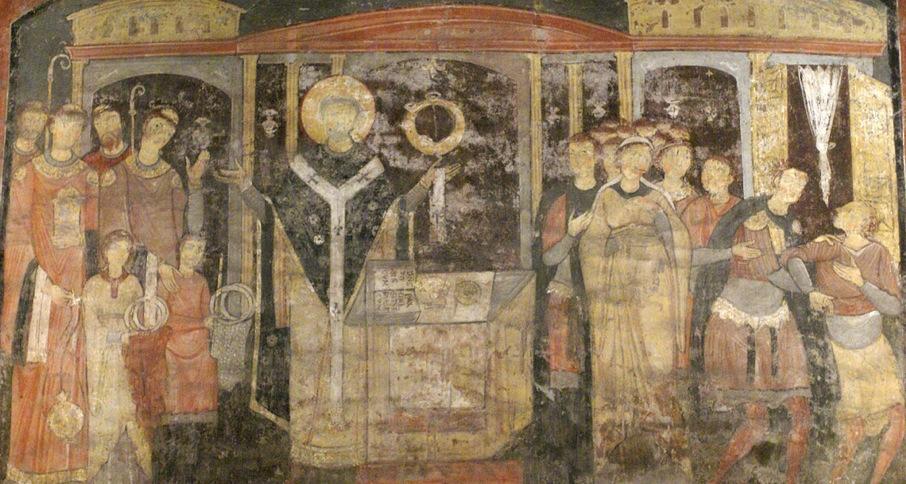 Фрески 9 века