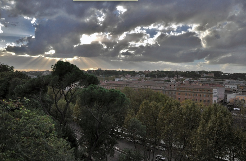 Рим из Апельсинового сада