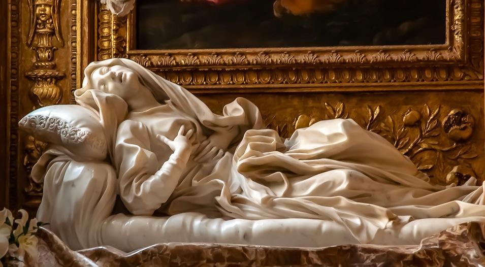 Беата Людовика работы Бернини