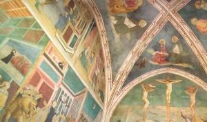 Фрески 1431 года предположительно Мазачо