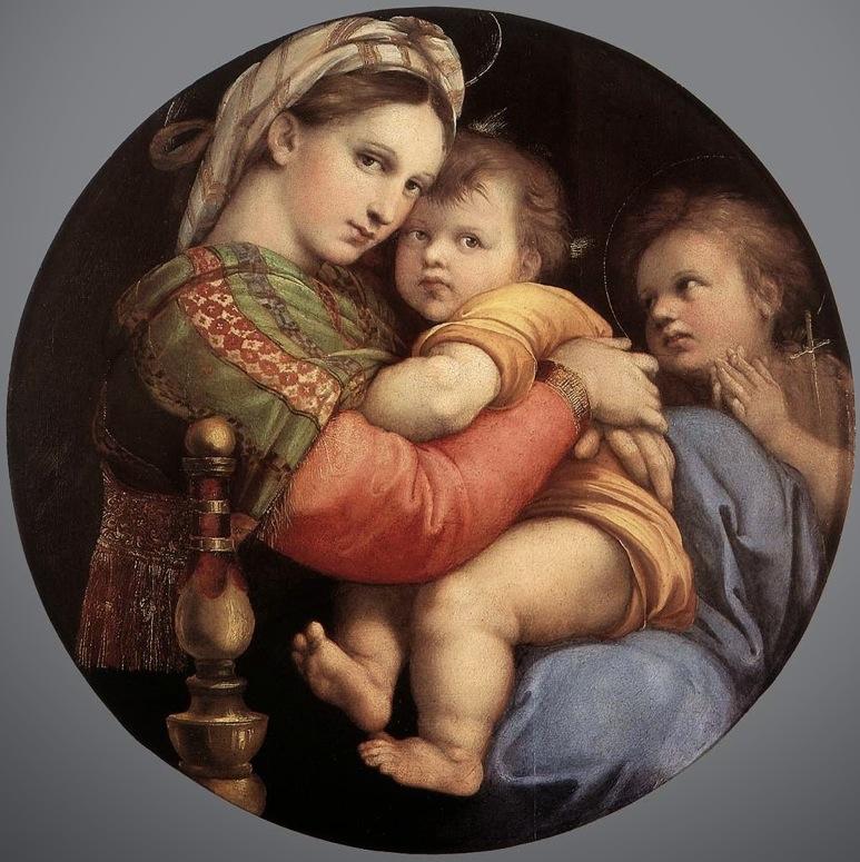 Мадонна делла Седья.