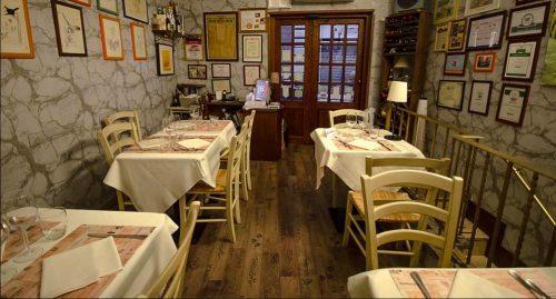 ресторан Osteria Barberini